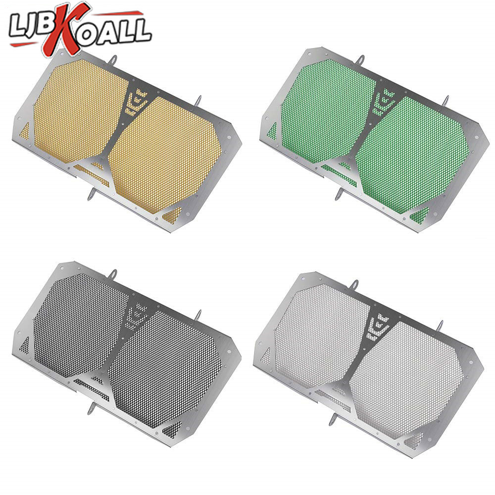 Motorcycle Stainless Steel Radiator Guard Grill Cover Mesh Protector for Kawasaki Versys 1000 2012 2013 2014 2015 2016 2017 2018 in Covers Ornamental Mouldings from Automobiles Motorcycles