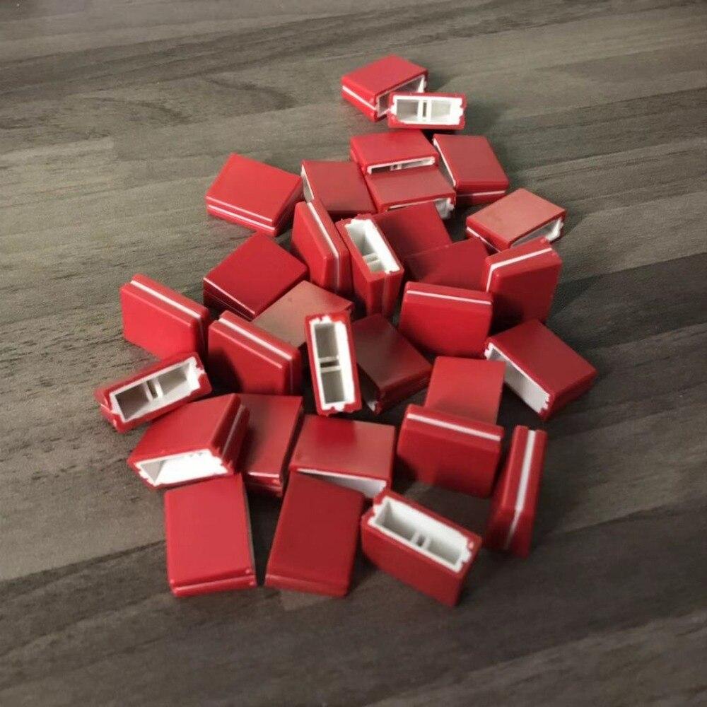 Selbstbewusst, Befangen, Gehemmt, Unsicher, Verlegen 100 Pcs Ersatz FÜr Fader Crossfader Knopf Djm800 Djm700 Dac2371 Rot Farbe