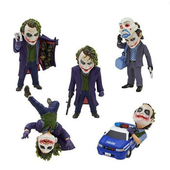 1 pcs Cartoon Anime Model Batman Clown Action Figures Statue Collection 5 Kinds Of Style Model Kid Gift Toy
