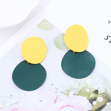 Bohopan 2019 Multiple Color Hoop Earrings For Women High Quality Female Circle Ladies Classic Fashion Ear Accessories
