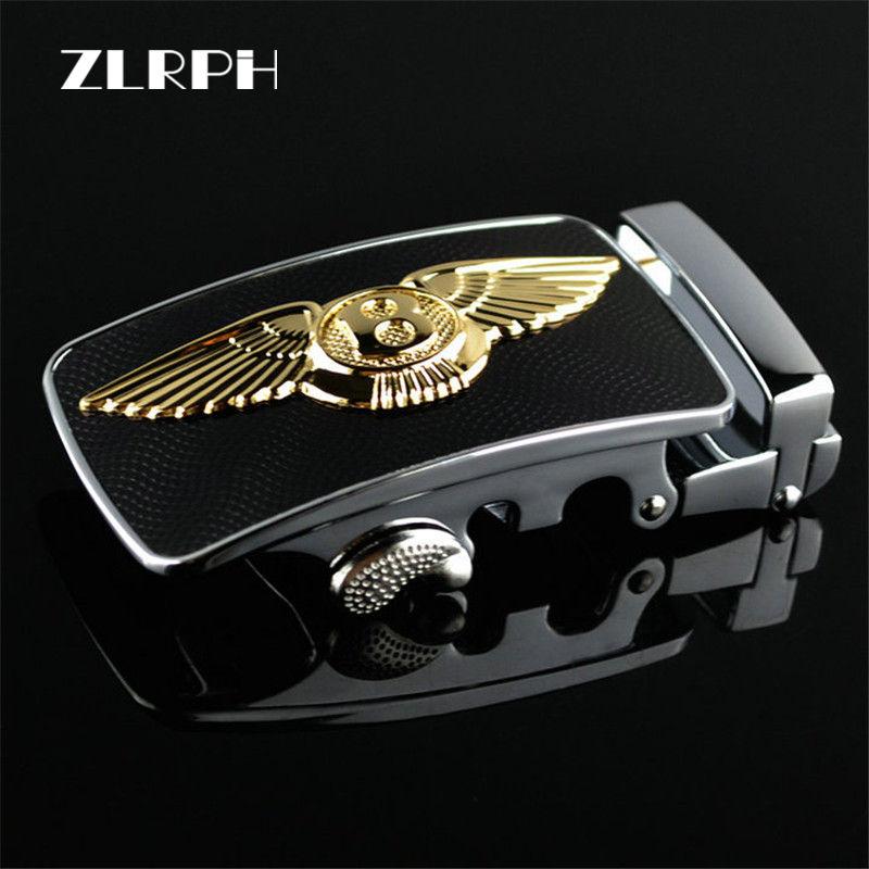 ZLRPH High-grade Belt Buckle Business Popular High-end Style Luxury Brand Man Wholesale Gloden