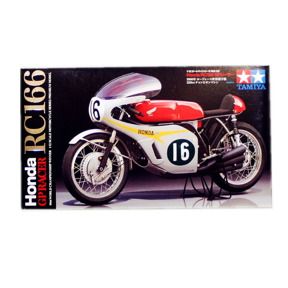 OHS Tamiya 14113 1/12 GP Racer RC166 1966 Championship Winner Scale Assembly Motorcycle Model Building Kits oh tamiya 1 12 yamaha motorcycle model yzr m1