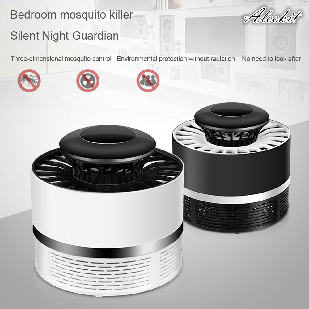 Official Website Usb Powered Mute Led Photocatalyst Mosquito Killer Lamp Mosquito Repellent Bug Insect Trap Light Uv Light Killing Trap Lamp Lights & Lighting