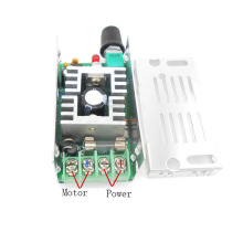 DC 12V24V36V48V60V Promise motor speed regulator, PWM pulse width driver board, anti-anti-extreme protection