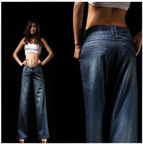2013 Women new thin jeans wide leg pants, ladies wide leg trousers ...