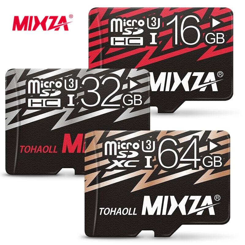 MIXZA Memory Card 128GB 64GB 32GB 16GB 8GB Micro Sd Card Class10 UHS 1 Flash Card