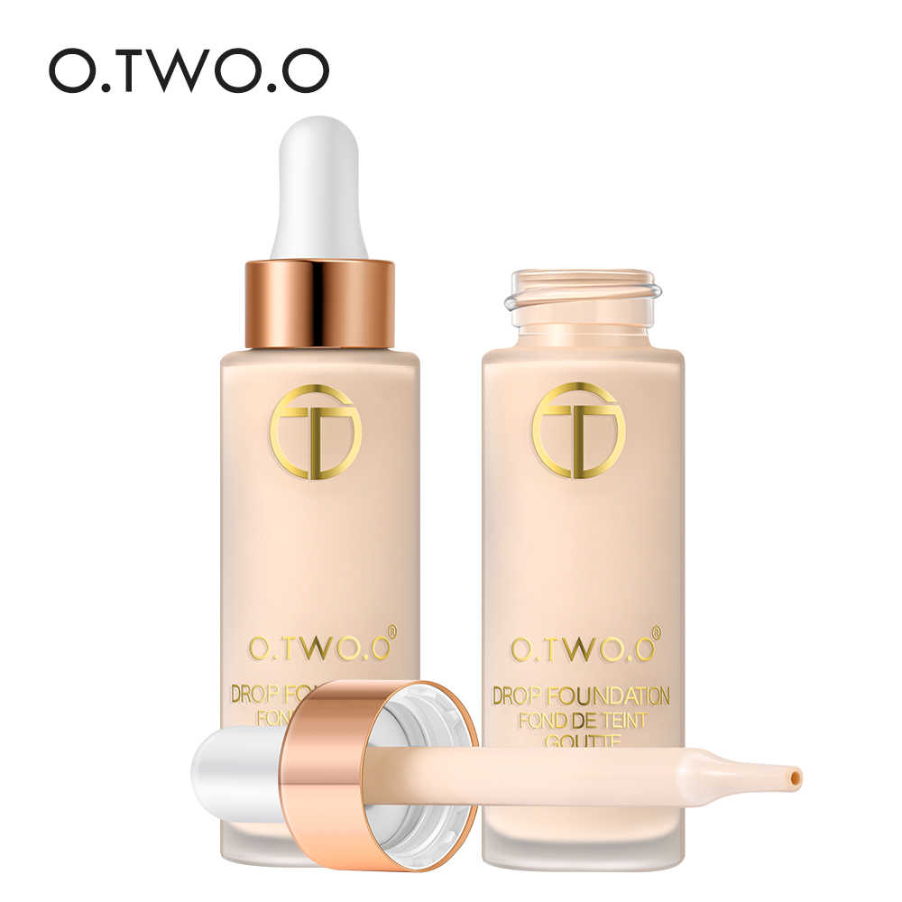 O. dua. O Full Cover Liquid Foundation Makeup Wajah Dasar Tahan Lama Concealer Primer BB Cream Make Up Kosmetik 15 Ml