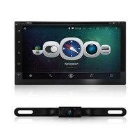 Yeni evrensel Android 4.44 Araba Radyo Çift 2 din araba dvd oynatıcı GPS Navigasyon dash Car PC Stereo Kafa Birimi Harita ücretsiz kamera