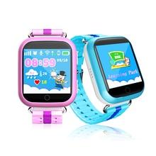 Gps smart watch q750 baby watch con wifi 1.54 pulgadas táctil Dispositivo de Localización de Llamadas pantalla SOS Perseguidor de Seguros para Niños Anti-Pérdida Monitor
