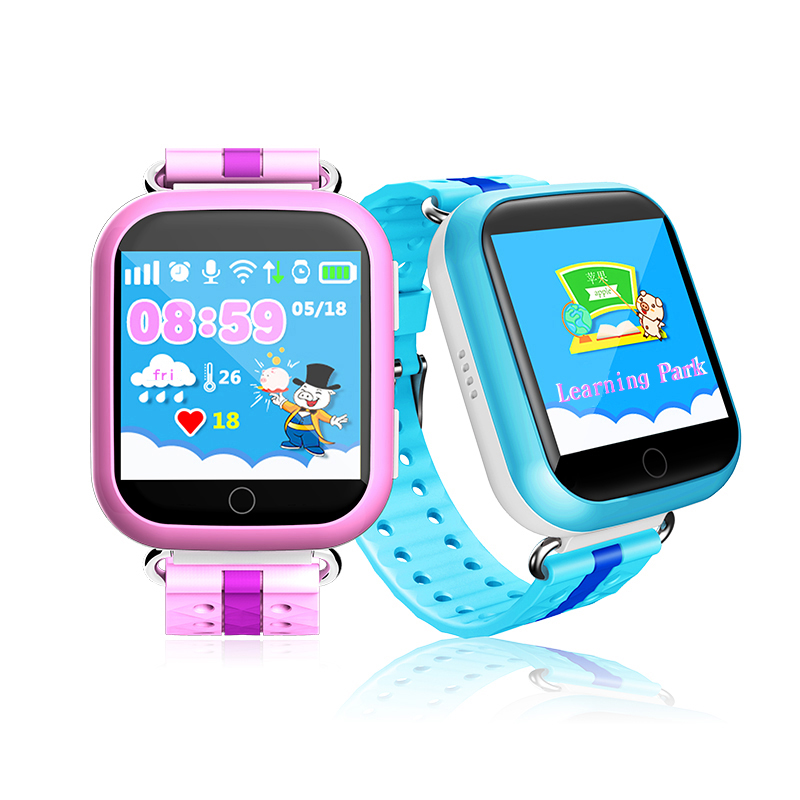 GPS smart watch Q750 baby watch with Wifi 1.54inch touch screen SOS Call Location Device Tracker for Kid Safe Anti-Lost Monitor wireless service call bell system popular in restaurant ce passed 433 92mhz full equipment watch pager 1 watch 7 call button