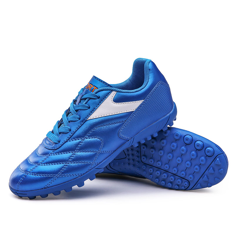 2019 Men's Soccer Shoes Indoor Lawn Sneakers Training Shoes Professional Boy Trend Chaussures Football Player Brand Shoes 86138 image