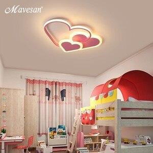 Image 5 - Różowe oświetlenie ledowe żyrandol dla dziewczyny sypialnia Plafond oświetlenie akrylowe lampy nowoczesne nowe oprawy Lampadario oprawy nabłyszczania
