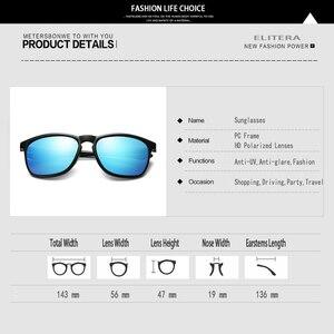 Image 5 - ELITERA מותג יוניסקס רטרו משקפי שמש מקוטב עדשת בציר משקפי שמש אביזרי משקפיים לגברים/נשים