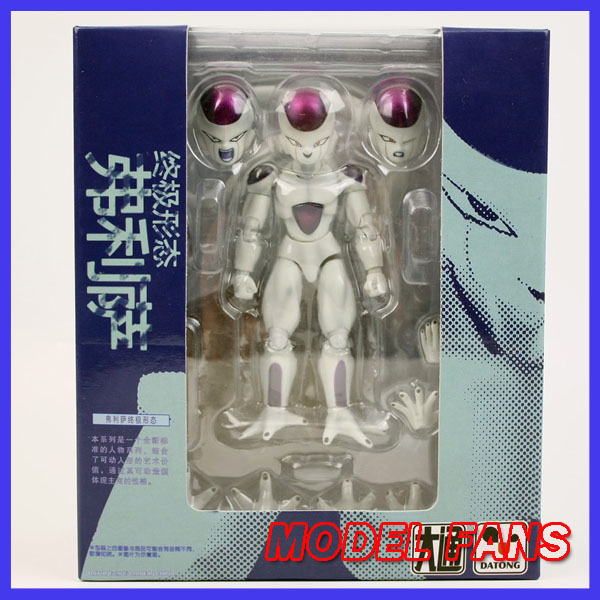 MODEL FANS IN-STOCK Datong SHF Frieza the final form anime Dragon Ball Z Action Figure Model doll toy gifts 19cm hot banpresto msp comic anime akira toriyama dragon ball z the freeza frieza freezer final state