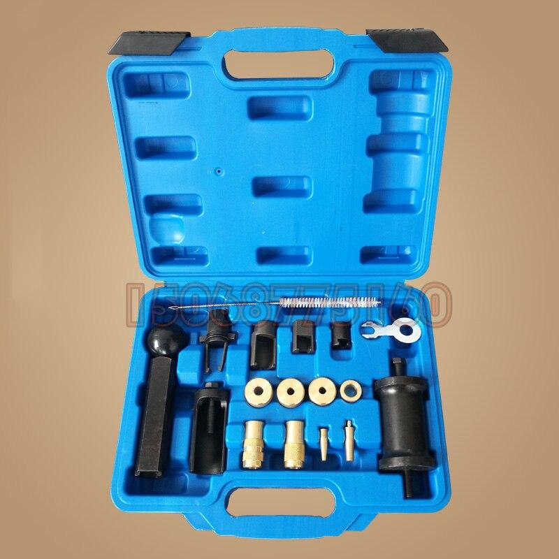 Trousse d'outils d'extracteur et de Service d'injecteur à rampe commune FSI/PD du groupe VAG pour Audi VW Set T10133 T10163 moteur essence et Diesel