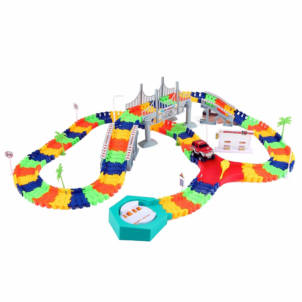Super Snap Speedway Assembly Track Car Toy Flexible Set with ...
