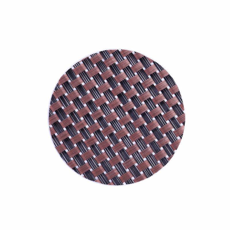 1 шт. ПВХ обеденный столик для столовых приборов кухонный декоративный коврик чашечка кружка Crossweave изоляция моющиеся минимализм подставки для напитков