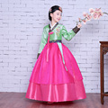 Высокое Качество Дети Корейский Ханбок Дети Партия Ханбок Платье для Свадьбы Девушка Корейской Традиционной Одежды для Производительности Этап 89