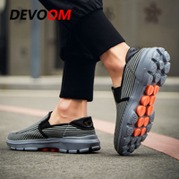 Summer Mens Slip on Shoes Casual Air Mesh Breathable Shoes Creepers Loafers 2019 New Sneakers Men Adulto Footwear Big Size EU 45