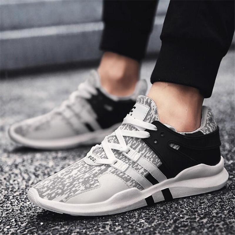 2019 Männer Der Vulkanisieren Schuhe Neue Mode Trend Turnschuhe Spitze-up Mischfarben Mann Vulkanisierte Schuhe Chaussure Homme Plus Größe 39-44 QualitäTswaren