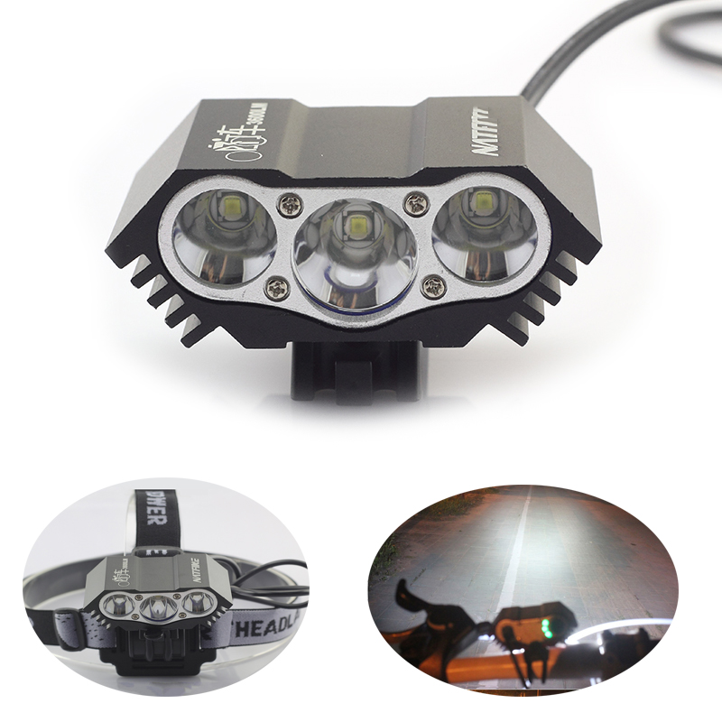 Яркий T6 светодиодные фары высокой Мощность ful фронтальные Фонарь налобный фонарик Свет ...