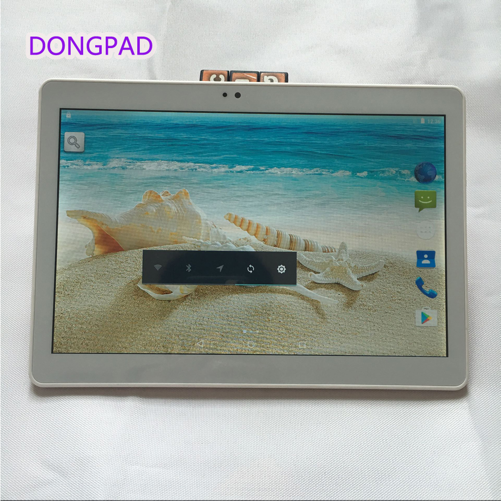 Metal Case DONGPAD Tablet 10 1 Inch 4GB ROM 32GB 5MP 1920 1200 IPS Android 6