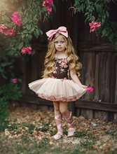 2019 girls dress print flower baby summer clothes kids tutu dresses sleeveless princess party lol for children clothing costume