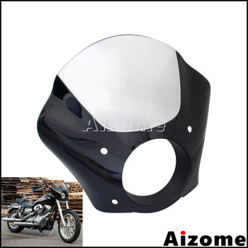 1 Set Headlight Fairing Quarter Fairing For Harley Sportster Iron 883 XL883 2009-15 Seventy Two XL1200V 12-2015 XL1200 XLH 883