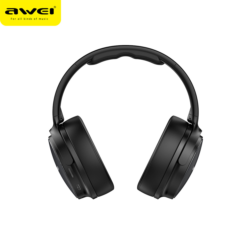 Stereo Bass Headphones Wireless Headphone Bluetooth Headset Noise Cancelling Over Ear With Microphone For iPhone Xiaomi PC *