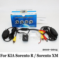 For KIA Sorento R / Sorento XM 2010~2014 / Laijie Wireless Car Rear View Camera / CCD Night Vision HD Wide Lens Angle Camera
