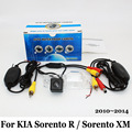 Para KIA Sorento R/Sorento XM 2010 ~ 2014/Fio Ou Sem Fio Câmera de Visão Traseira do carro/CCD de Visão Noturna HD Lente Grande Angular câmera