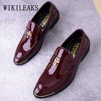 designer brand men dress shoes leather wedding dress man shoes italian oxford shoes for men loafers men zapatos oxford hombre