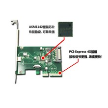 PCI-E 4x Express to USB 3.1 Type C USB-C Single Port Add on Expansion Card Adapter 10 Gbps недорого