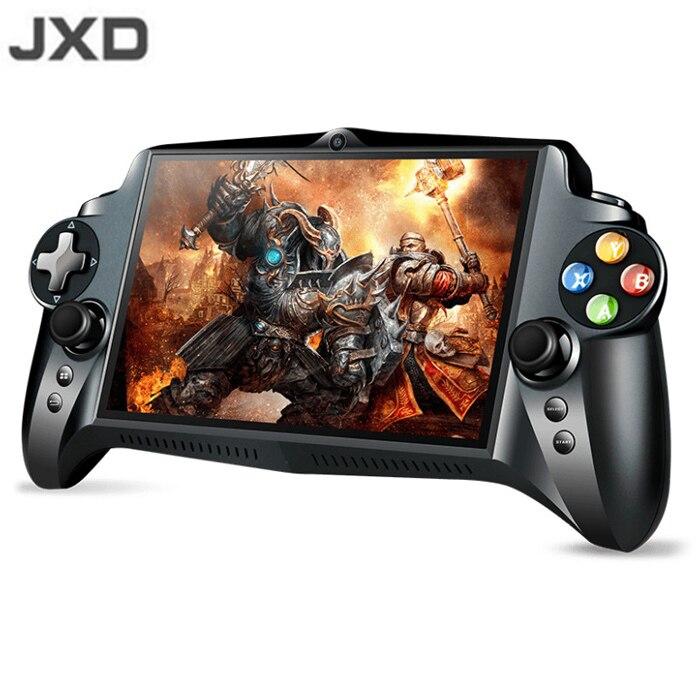 JXD S192K 7 pouce 1920X1200 Quad Core 4g/64 gb Nouvelle Manette de Jeu 10000 mah Android 5.1 tablette PC Jeu Vidéo Console 18 simulateurs/Jeu PC