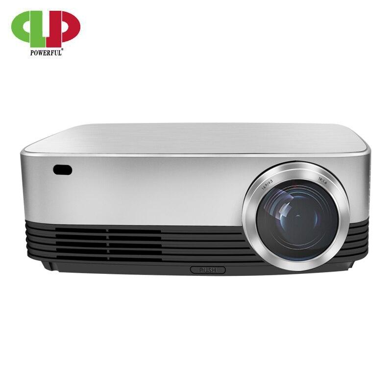Puissance Ful HD Projecteur M26 Android 6.0 LCD led 1080 P Projecteur 4 K 1280*800 3D Maison Intelligente théâtre Cinéma Film Beamer Proyector