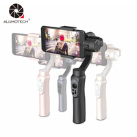 Zhiyun Handheld Steadicam Smooth Q 3 Axis Gimbal Stabilizer Folloing Shoot Video For IPhone 8 Gopro