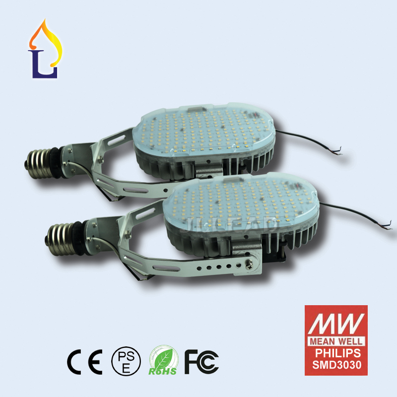 Paquete de 6 E40 E39 100W 120W 150W controlador externo normal kits de retroajuste Led luces de dosel reemplazar 400W smd3030 lámparas de estacionamiento