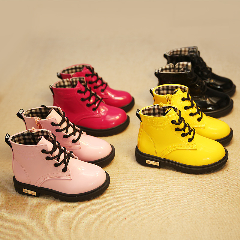 2015 New autumn fashion children boots girls boot comfortable kids boots flat casual shoes free shipping