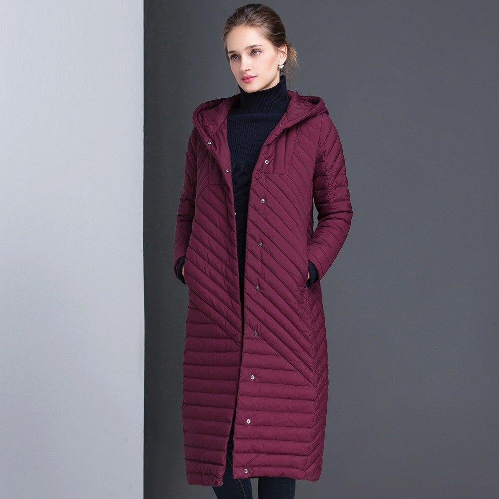 Winter   Coats   Women 2019 Winter Jacket Women Elegant   Down     Coat   Thickening   Down   Parkas