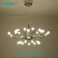 Modern LED Pendent Lamp Creative Modern Lam For Dinning Room Restaurant Bar Shop Meteor Shower Lamp