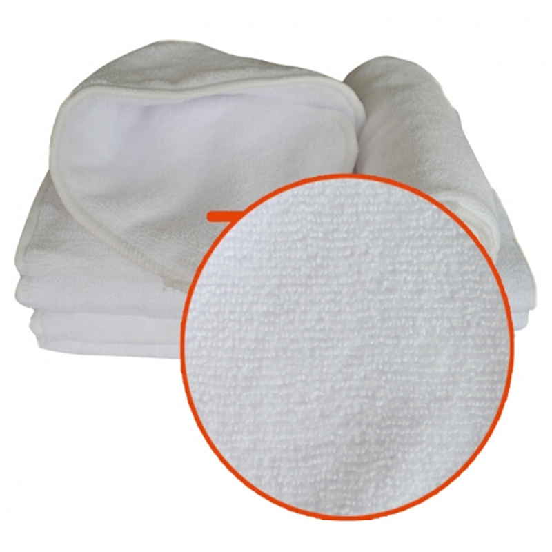 Ananbaby Diaper Insert 30 PCS Breathable 3 Layer Microfiber Inserts Washable Reuasable Baby Changing Pads