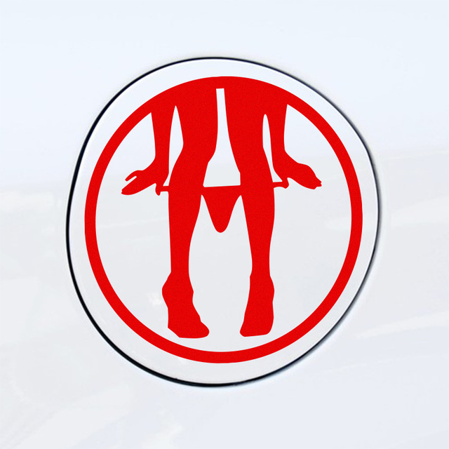 Customization Sex Girl Fuel Tank Car Stickers Decal Car Styling For - Volkswagen audi
