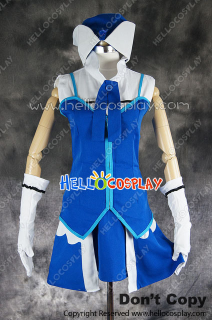 Fairy Tail Cosplay Juvia Lockser Loxar Costume H008