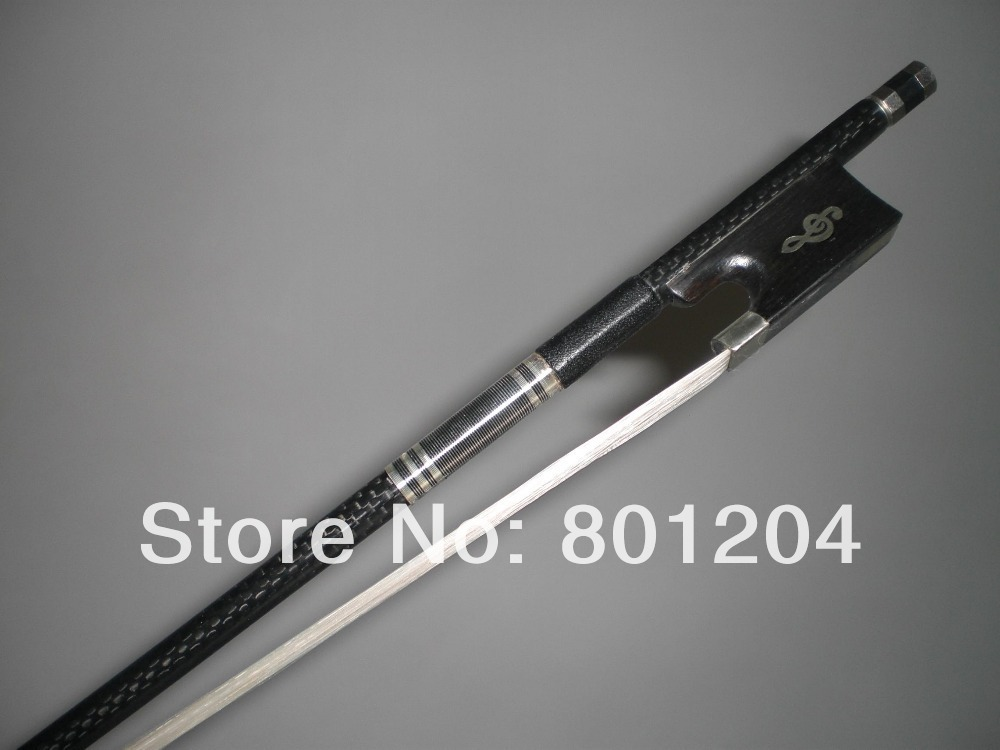 1 PC Strong Balanced Violin Carbon Fiber bow 4/4 1010#1 PC Strong Balanced Violin Carbon Fiber bow 4/4 1010#