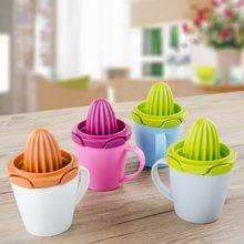 Three colors juicer hand fruit lemon juice cup grinding crushed juice for furniture kitchen package mail 020(China)