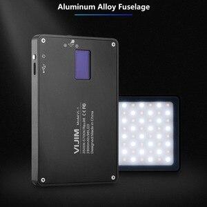 Image 2 - VIJIM VL 1 96 cuentas regulable luz LED para vídeo con pantalla Oled en la Cámara de luz de estudio de fotografía 3500k 5700k 2800mAh Luz de relleno
