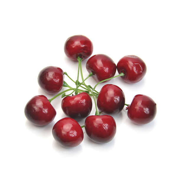 New 10pcs Fake Cherry Artificial Fruit Model House Kitchen Party Decorative