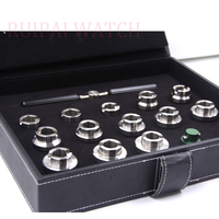 Case Opening Die Set with Handle for Rolex Watch Cases   Includes 13 Sizes|Repair Tools & Kits|   -