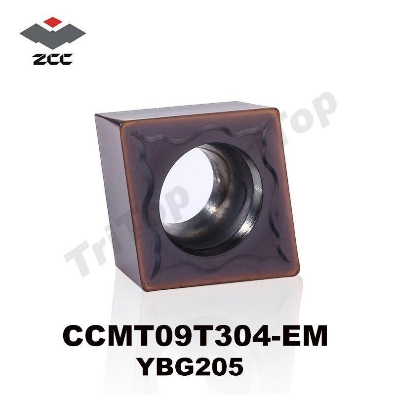 Ferramentas de Corte Inserção de Gerencio Vender Ferramenta Ccmt 09t304 Los Ybg205 10 Pçs – Lote Zcc. ct Cnc Carboneto Cimentado Ccmt09t304 Hot Zcc