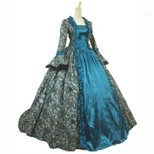 b4f562618e Buy blue victorian gown and get free shipping on AliExpress.com